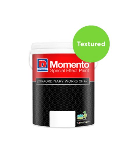 NIPPON MOMENTO® SPARKLE SILVER (TEXTURED SERIES) with MOMENTO PRIMER